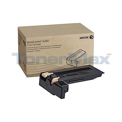 XEROX WORKCENTRE 4260MFP TONER CTG BLACK